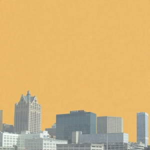 Milwaukee Skyline background paper