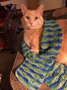 Undulation scarf
